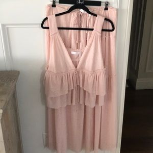 See By Chloe Dresses - See By Chloe two piece set top w matching skirt